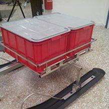 Scanback 55Liter röd